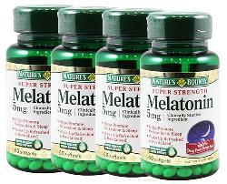 Viên uống điều hòa giấc ngủ nature's bounty melatonin 5 mg của Mỹ