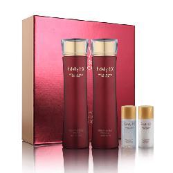 Bộ set nước hoa hồng - Sữa dưỡng tái sinh phục hồi Edally Rejuvenating Essential Skin Care