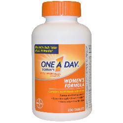 One A Day Women's Formula 200 viên Vitamin tổng hợp cho nữ của Mỹ