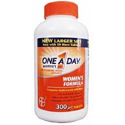 One A Day Women's Formula 300 viên- Vitamin tổng hợp cho phụ nữ dưới 50 của Mỹ