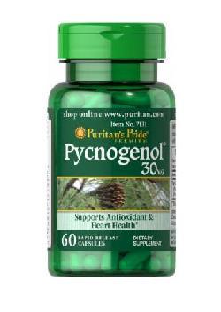 Puritans Pride Pycnogenol 30mg của Mỹ 30 viên - chống oxy hóa