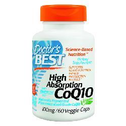 Coenzyme Q10 100mg Doctor's Best viên uống hỗ trợ điều trị tim mạch của Mỹ