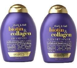 Bộ dầu gội - dầu xả Biotin & Collagen Mỹ Chống Rụng Tóc Kích thích mọc tóc