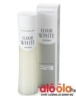 Nước hoa hồng Shiseido Nhật Bản  - Shiseido Elixir whitening clear lotion se khít lỗ chân lông