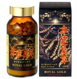 Royal Gold Tohchukasou viên uống đông trùng hạ thảo Nhật Bản