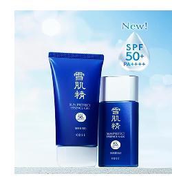 Kose Sekkisei kem chống nắng dạng sữa/gel SPF 50/ PA +++
