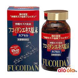 Okinawa Fucoidan Kanehide Bio 150 Viên - Hỗ Trợ Điều Trị Ung Thư Tốt Nhất Nhật Bản