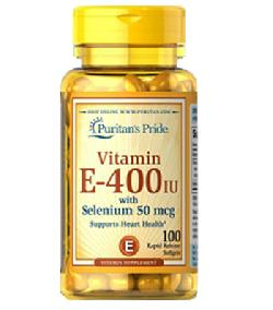 Natural Vitamin E 400IU Đánh Bay Vết Nhăn - Natural Vitamin E Hộp 100 Viên Của Mỹ