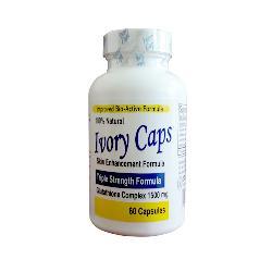 Ivory Caps Pills 1500mg - Viên uống trắng da bổ sung glutathione