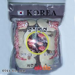 Nấm linh chi Hàn Quốc có chân túi 1kg - Món quà ý nghĩa cho sức khỏe