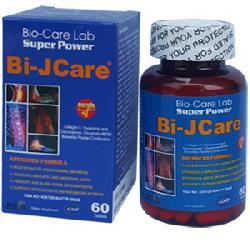 Bi-Jcare  Thực phẩm chức năng Tăng cường sức khỏe xương khớp hộp 60 viên