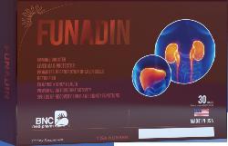 TPCN Funadin - Hỗ trợ điều trị gan, thận