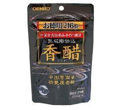 Dấm đen gạo lức Nhật Bản Orihiro dạng viên uống 216 viên