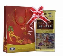 Quà tặng cấp trên sang trọng Thái cực sâm tẩm mật ong củ khô 600gr