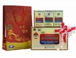 Quà tặng đối tác Bột thái cực sâm Daedong hộp giấy 300g của Hàn Quốc