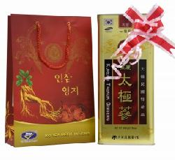 Quà tặng khách hàng Thái cực sâm củ khô 600gr Hàn Quốc cao cấp
