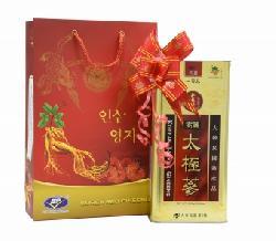 Quà tặng chính hãng Thái cực sâm củ khô hộp thiếc 300g hãng Daedong