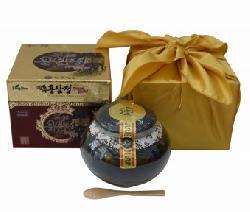 Quà tặng tết Cao hắc sâm Kanghwa hũ sứ 1kg chính hãng từ Hàn Quốc