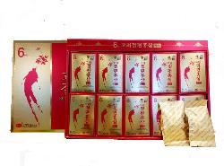 Hồng sâm thái lát tẩm mật ong KGS hộp đỏ Hàn Quốc chính hãng