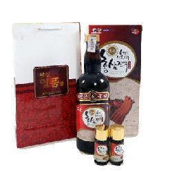 Nước hồng sâm thuốc bắc Hanil hộp 2000ml Hàn Quốc chính hãng