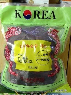 Nấm linh chi đỏ Hàn Quốc túi xanh 1 kg