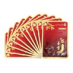 Mặt Nạ Hồng Sâm My Gold Hộp 10 Miếng Hàn Quốc Chính Hãng