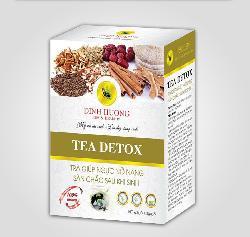 Trà tea detox - cho vòng 1 sau sinh nở nang săn chắc