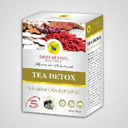 Viên uống thải độc trà giảm cân Đinh Hương cho vóc dáng eo thon