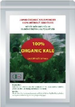 Organic kale nhật bản- Bột cải xoắn 100% hữa cơ loại 100g/gói
