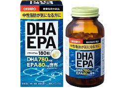 Viên uống bổ não DHA EPA Orihiro hộp 180 viên của Nhật Bản chính hãng