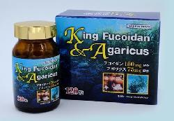 King Fucoidan & Agaricus Nhật Bản – Hỗ trợ điều trị ung thư