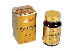 Viên uống hỗ trợ điều trị ung thư Avi Fucoidan hộp 60 viên USA