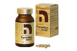 NatureMedic Fucoidan AHCC hộp vàng 160 viên Nhật Bản