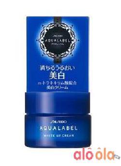 Kem dưỡng Shiseido Aqualabel White up Cream màu xanh 30g