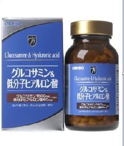 Viên bổ khớp glucosamin Orihiro & Hyaluronic 432 viên