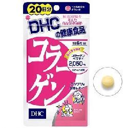 Viên uống collagen DHC 2050mg dùng trong 20 ngày Nhật Bản