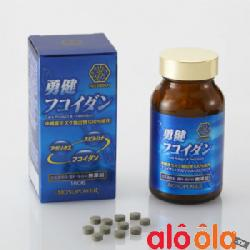 Yuken Fucoidan Kanehide Bio 180 Viên Nhật Bản  phòng ngừa & hỗ trợ ung thư