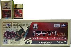 Cao Linh Chi Đông Trùng Hạ Thảo Hàn Quốc Hộp 5 Lọ Chất Lượng