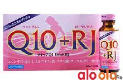 Thực phẩm bổ sung dưỡng chất Two Top Q10 Drink RJ của Nhật