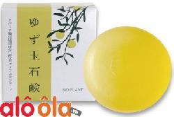 Xà bông tẩy da chết Yuzu Dama Soap 80g Nhật Bản – Dưỡng trắng da hiệu quả.