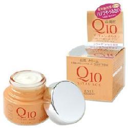 Kem dưỡng da chống lão hóa Kose Q10 Kose Vital Age 40g