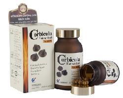 Viên uống giải độc gan, hạ men gan Corbicula Extract Ball