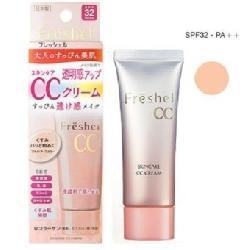 Kem trang điểm CC Kanebo Freshel CC cream SPF 32 PA++ Nhật Bản