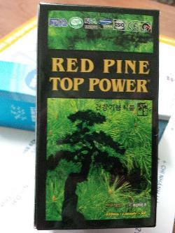 Tinh dầu thông đỏ Hàn Quốc Pine power Gold hộp 60 viên
