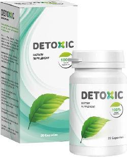 Detoxic – Viên uống tiêu diệt ký sinh trùng ra khỏi cơ thể