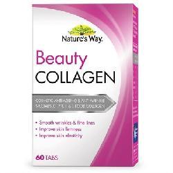 Viên uống Natures Way Beauty Collagen 60 viên của Úc
