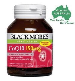 Viên uống bổ tim mạch CoQ10 150mg Blackmores 30 viên của Úc