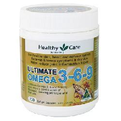 Viên uống Omega 3 6 9 Healthy Care Ultimate hộp 200 viên của Úc