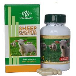 Nhau Thai Cừu Sheep Placenta Concentrate Nu-Health 60 Viên Của Mỹ