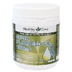 Dầu hạt lanh Healthy Care Super Flaxseed Oil 1000mg 200 viên